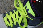 Hoe te te bevestigen versleten schoen lace