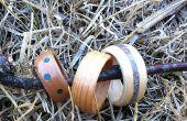 Gebogen hout ringen