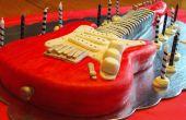 Elektrische gitaar taart