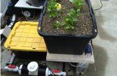 GROW-BED--deel van aquaponic balkon tuin