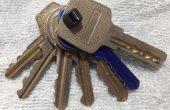 Goedkoopste sleutels organisator (flexibel toevoegen en verwijderen)
