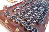 Mijn versie van Steampunk toetsenbord