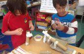 Rube Goldberg geïnspireerd marmer Roll - 1e rang knutselen - Week 8