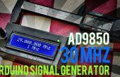 Arduino + AD9850 30MHZ DDS signaal Generator In 12$