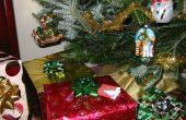 Maak een verborgen kerstboom drenken