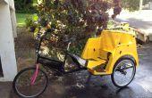 1 inch as upgrades voor pedicabs met behulp van go-kart onderdelen
