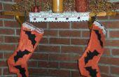 Hoe om te naaien een primitieve Halloween kous