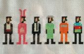 Farscape Cross Stitch: Harvey
