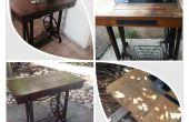 Naaien tabel renovatie