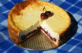 Zure Cherry Cheesecake (Hongaarse stijl)