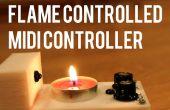 Vlam gecontroleerde MIDI Controller