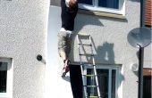 Hoe het bouwen van een Ninja krijger kromgetrokken muur