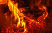 Verwarming met vuur