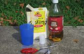 Azijn/Baking Soda granaat