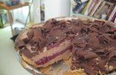 Chocolade kersen taart