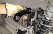 Vervangen achtervering bovenste besturingselement wapens (Honda Civic 1999-EK3).