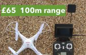 Goedkope ready-to-fly FPV quadcopter: from 65 € / $100, 100 meter bereik buitenshuis