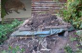 Hedgehog Pallet Home (eventueel combineren met uw Compost)