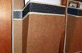 Budweiser doos kartonnen gemonteerd Mail wandhouder
