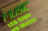 Maak je eigen LED Sign VU Meter