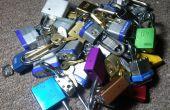 Het vergrendelen: Lockpicking display & praktijk staan