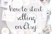 Hoe te beginnen met de verkoop op Etsy