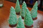 Hoe maak je kerstboom Cupcakes