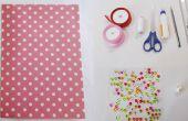 Craft DIY ideeën: Hoe maak je een eenvoudige DIY papier Gift Bag