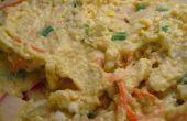 Puree van aardappelsalade