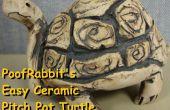 Gemakkelijk keramische knijpen Pot schildpadden