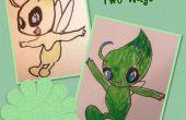 Hoe teken je Celebi ~ twee manieren ~