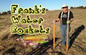 Frank's Water Rocket overzicht en demonstratie