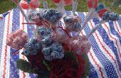 4th of July patriottische middelpunt met patriottische Candy
