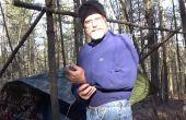Leren van de beste knoop voor Camping