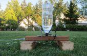2 liter fles Water Rocket en Launcher Pad