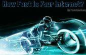 Hoe om te controleren de internetsnelheid van uw vanaf uw bureaublad