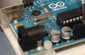 Uitzetten van Arduino (Microcontroller) gegevens