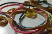 10 life Hacks met behulp van elastiekjes