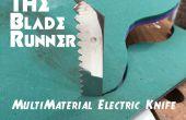 De Blade Runner multi materiële elektrisch mes