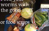 Maak Worm voedsel voor uw Wormery