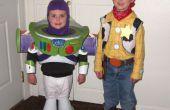 Buzz Lightyear en Woody kostuums