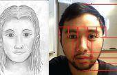 Bij het tekenen van een gezicht (verhoudingen Made Easy)