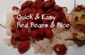 Snelle & eenvoudig rode bonen en rijst