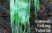 Deel 2 - Hoe maak je een spinnenweb vilten sjaal
