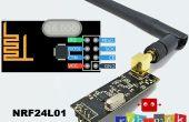 Arduino met NRF24L01 RF-Module