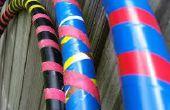 DIY PVC pijp hoelahoep