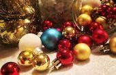 DIY glas Jar kerst middelpunt