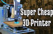 Super goedkope 3D-Printer vanaf CD-Rom Drives