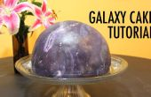 Doctor Who thema Galaxy Universe Cosmos taart