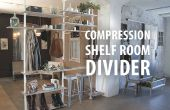 Compressie plank Room Divider